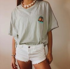 Cute Summer Outfits For Teens, Stylish Summer Outfits, Cute Outfits For School, Cute Comfy Outfits, Tumblr Summer Outfits, Summer Fashion For Teens, Teenage Outfits, Teen Fashion Outfits, Mens Fashion