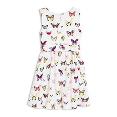 Patterned Dress White