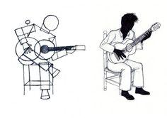 Ilustración, Seisdedos, Flamenco