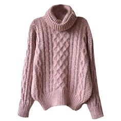 Womens Turtle Neck Knit Long Sleeve Chunky Winter Sweater Jumper * Find out more about the great product at the image link. (This is an affiliate link) #Sweaters