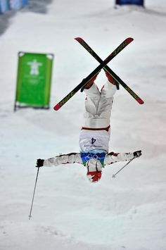 Alexandre Bilodeau won Canada's first gold medal at the Vancouver 2010 Olympic Games in men's moguls