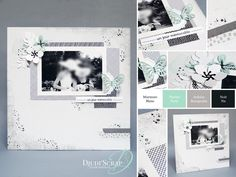 """Djudi'Scrap IN PROJECTS HOME DECO, SCRAP CANVAS IN A FORMAT PAGE ... """"TIMELESS TEXTURES SET»"""