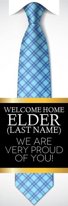 welcome home elder vertical tie sign