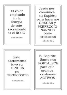 La Catequesis (El blog de Sandra): Recursos Catequesis Los Sacramentos Kids Church Lessons, Prayers, Cards Against Humanity, Blog, Angeles, Confirmation, Molde, Children Church Lessons, Wedding Stage
