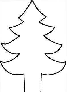 Coloriage sapin de Noël dessiné par nounoudunord