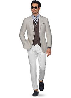 Suitsupply Jackets: We couldn't be more proud of our tailored jackets. Mens Fashion Suits, Mens Suits, Male Fashion, Smart Casual Men, Stylish Men, Linen Suits For Men, Suit Supply, Well Dressed Men, Gentleman Style