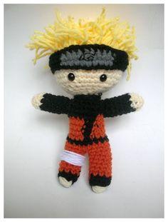 Naruto Shippuden Amigurumi Doll