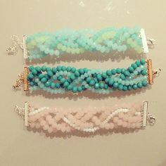 Pulseras - Bracelet #IDEA . By: CatCatBlog.