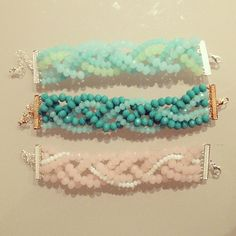 Pulseras - Bracelet #IDEA . By: CatCatBlog.