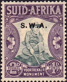 South West Africa 1935 Voortrekker Memorial Afrikanns SG 94 Fine Mint SG 94 Scott Other British Commonwealth stamps for sale here Cape Colony, Union Of South Africa, Old Stamps, St Helena, Handmade Books, West Africa, Stamp Collecting, Commonwealth, Postage Stamps