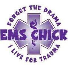 We live for trauma. Emergency Medical Technician, Emergency Medical Services, Emt Shirts, Ems World, Ems Week, Paramedic Quotes, Ems Humor, Firefighter Paramedic, Emergency Medicine