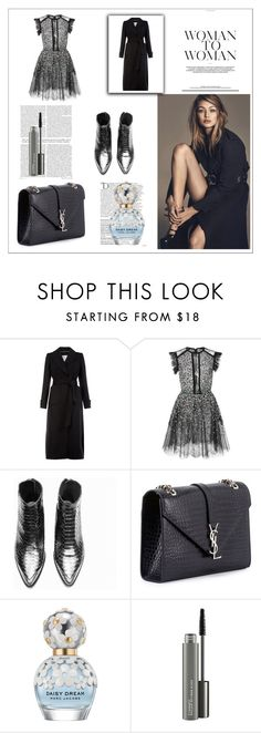 """""""99"""" by cano315 on Polyvore featuring moda, Monsoon, Elie Saab, Yves Saint Laurent, Balmain, Marc Jacobs, MAC Cosmetics, outfitoftheday, polyvorecommunity y polyvoreeditorial"""