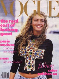 1980s Vogue cover, sent to Netherlands