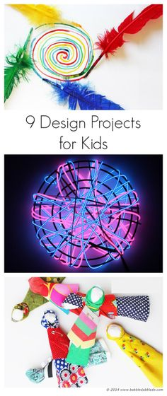 {Guest Post} Nine Design Projects for Kids from Fun at Home with Kids