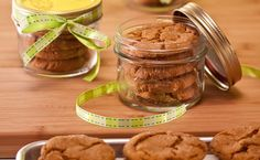 #Epicure Double Ginger Crackle Top Cookies