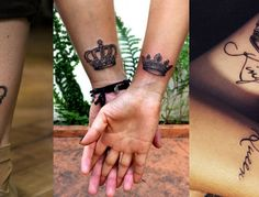 Crown Tattoo ideas for women!