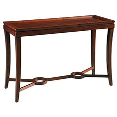 Reual James 801-040 Claire Console Table, Mahogany