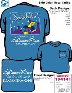 Clemson KD's Halloween Mixer Shirts, 2013