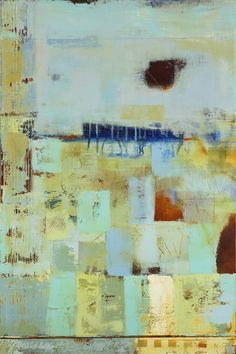 """Edge of the Ocean""  24x36 in  Mixed Media by Jada Fine Art"