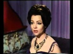 "Sara Montiel - La paloma (from the movie ""La bella Lola"") - YouTube"