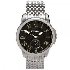 b35b42af211 Relógio Masculino Analógico Fossil FS4944 1PN – Prata Por  R  339