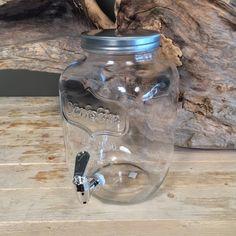 Γυάλα Βρυσάκι Μικρή Mason Jar Lamp, Christening, Table Lamp, Vase, Home Decor, Table Lamps, Decoration Home, Room Decor, Vases