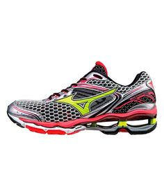 Look at this Mizuno Gray & Black Wave Creation 17 Running Shoe - Women on #zulily today!
