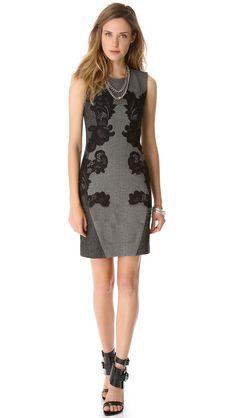 Morpheus Boutique  - Grey Jacquard Floral Pattern Sleeveless Dress, $129.99 (http://www.morpheusboutique.com/grey-jacquard-floral-pattern-sleeveless-dress/)