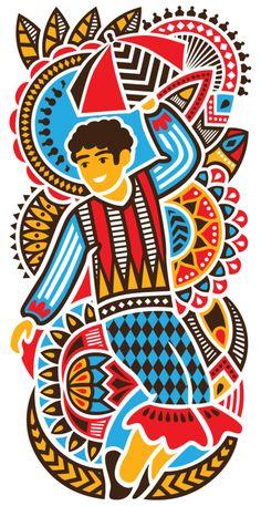 Creative Projeto, Cenogr, Fico, and Carnaval image ideas & inspiration on Designspiration Graphic Design Posters, Graphic Art, Haitian Art, Poster Background Design, Black Art Pictures, Madhubani Art, Cactus Art, Doodles Zentangles, Arte Pop