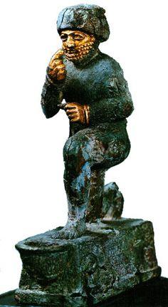 O adorador de Larsa, Museu do Louvre, Paris.