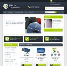 Patient Gift Store Website