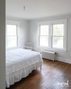 The Bedroom is Painted   Inspired by Charm