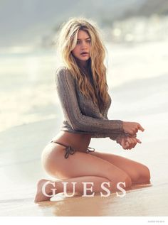 @GiGiHadid - Guess Spring 2015 David Bellemere @thomastreuhaft via @GUESS for #motion