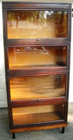 Beautiful antique barrister bookcase