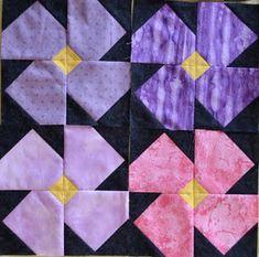 African Violet Quilt...for Kristy's momma!