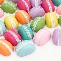 Flatback+macaroon+cabochons+in+8+colors  Quantity:+8+pcs+(1+pc+per+color)