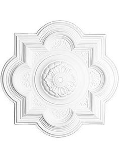 Florentine 29 Ceiling Medallion With Center Hole - Ceiling design Plaster Ceiling, Pop Ceiling Design, Medallion, Pop Design, Ceiling Medallions, Decor, Ceiling Tiles, Ceiling Decor, Ceiling Detail