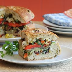 Have Recipes-Will Cook: Vegan Muffuletta Sandwich...Although, I would probably add cheese