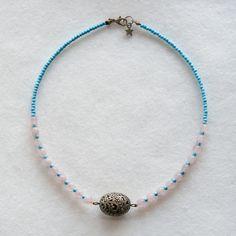 bijoux bleuluciole little market collier romantique shabby chic