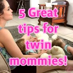 5 Great tips for twin mommies! Twin Mom, First Time Moms, Blessings, Real Life, Twins, Blessed, 1st Time Moms, Gemini, Twin