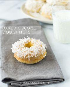 Baked Coconut Doughnuts