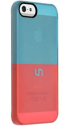 """Robin Egg Coral"" by Uncommon for the iPhone 5 Permafrost™ UN Deflector"