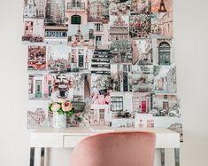 Travel collage kit