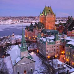 Old Quebec in winter |  Credit: Jean-François Bergeron
