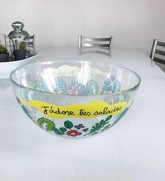 "Saladier ""tes salades"" - Valérie Nylin pour DLP"