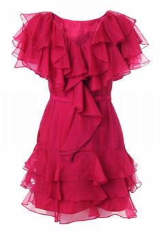 Ginger Dress by Rachel Zoe. rachelzoe #ruffles #flirty #dress