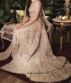 Pakistani Bridal Couture, Nikkah Dress, Asian Fashion, Dahlia, Wedding Bride, Desi, Ball Gowns, Engagement, Chic