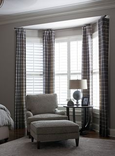 bedroom bay window curtains (beth haley)