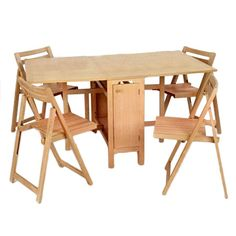 5 Piece Erica Convertible Table Set