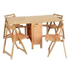 5 Piece Erica Convertible Table Set